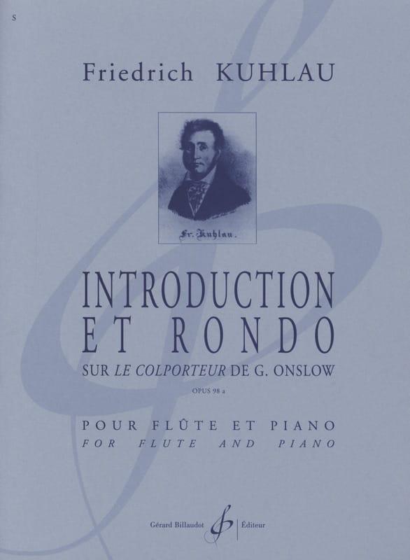 Introduction et Rondo op. 98a - Friedrich Kuhlau - laflutedepan.com