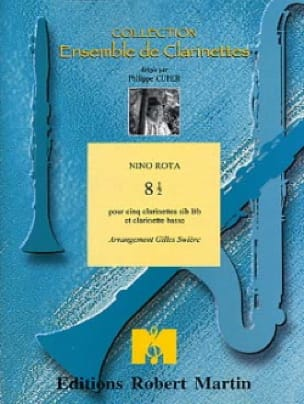 8 1/2 - 5 clarinettes sib et clar. basse - ROTA - laflutedepan.com