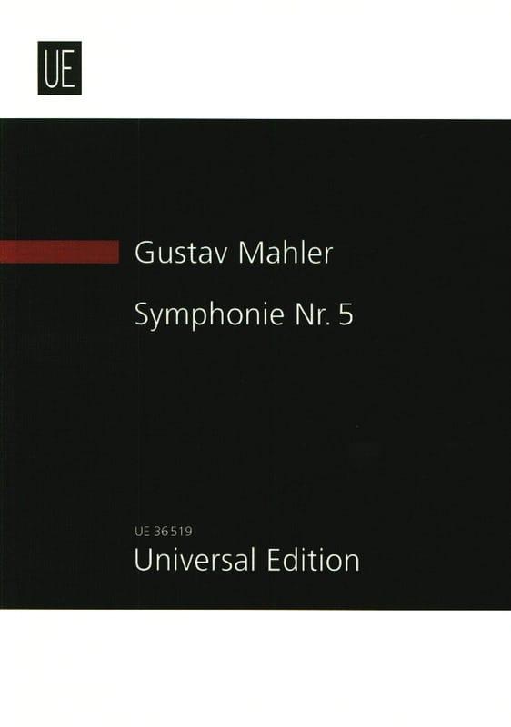 Symphonie n° 5 - MAHLER - Partition - Grand format - laflutedepan.com