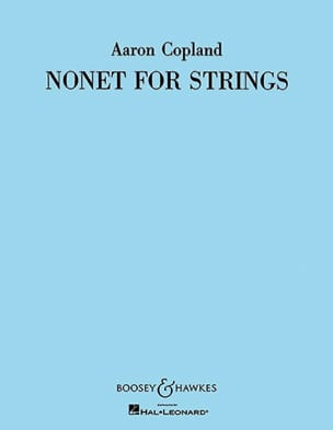 Nonet for strings -Parts COPLAND Partition Sextuors - laflutedepan