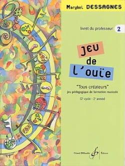 Jeu de L'ouïe - Volume 2 - Prof Marybel Dessagnes laflutedepan