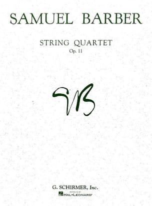 Samuel Barber - Quartet quartet op. 11 - Parts - Partition - di-arezzo.com