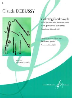 Golliwogg's Cake Walk DEBUSSY Partition Clarinette - laflutedepan