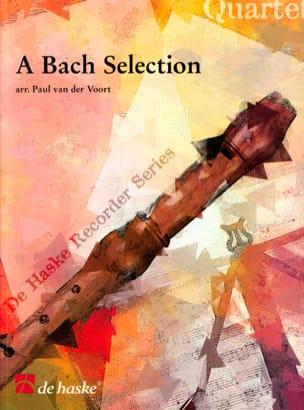 A Bach Selection - Recorder Quartet BACH Partition laflutedepan