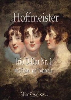 Trio N°1 en Ré Majeur HOFFMEISTER Partition Trios - laflutedepan