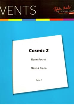 Cosmic 2 - Flûte et piano René Potrat Partition laflutedepan