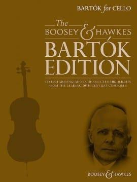 Bartok for Cello BARTOK Partition Violoncelle - laflutedepan