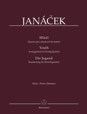 Mladi - Parties séparées JANACEK Partition Quatuors - laflutedepan
