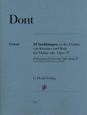 Jacob Dont - 24準備演習、op。 37 - Partition - di-arezzo.jp