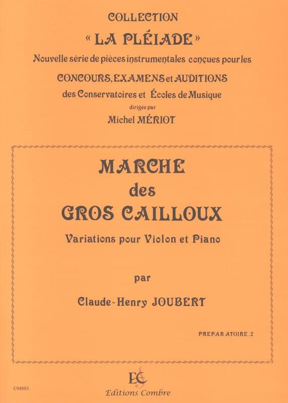 Marche des Gros Cailloux - Claude-Henry Joubert - laflutedepan.com