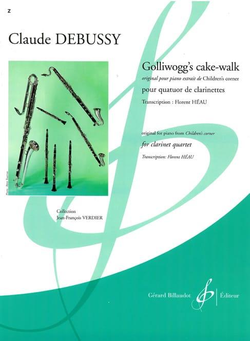 Golliwogg's Cake Walk - DEBUSSY - Partition - laflutedepan.com