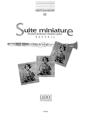 Suite Miniature op. 145 Recueil Alexandre Gretchaninov laflutedepan