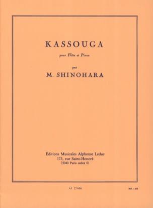 Kassouga Makoto Shinohara Partition Flûte traversière - laflutedepan