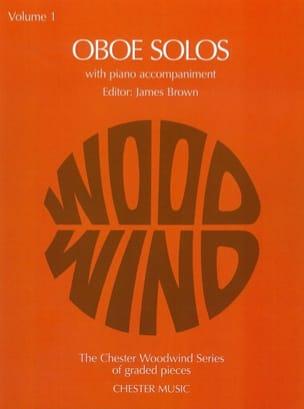 Oboe Solos - Volume 1 James Brown Partition Hautbois - laflutedepan