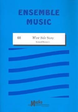 West Side Story -Ensemble BERNSTEIN Partition laflutedepan