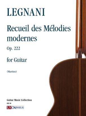 Recueil des mélodies modernes, op. 222 laflutedepan