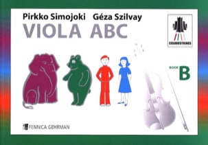 Colourstrings Viola ABC (Book B) Geza Szilvay Partition laflutedepan