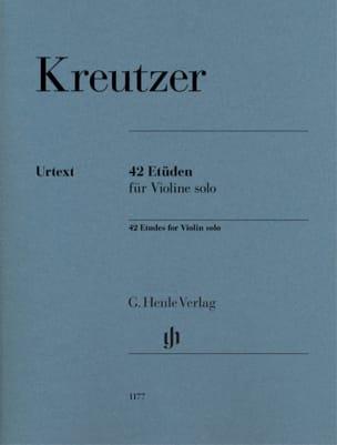 Rodolphe Kreutzer - 42 studi - Partition - di-arezzo.it