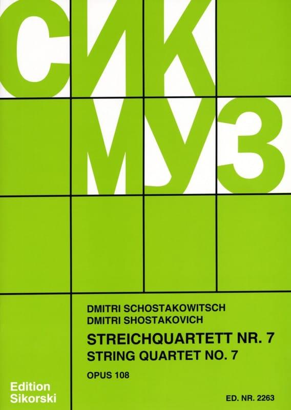 Streichquartett Nr. 7 op. 108 - Stimmen - laflutedepan.com