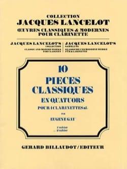 10 Pièces classiques - Vol 2 - quatuor clarinettes laflutedepan