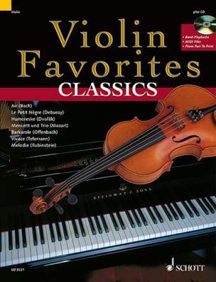Violon favorites Classics Partition Violon - laflutedepan