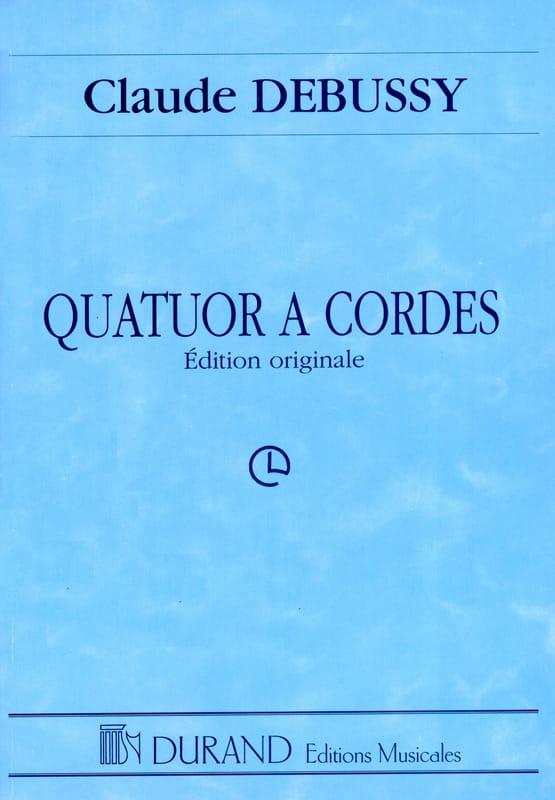 Quatuor à Cordes - DEBUSSY - Partition - laflutedepan.com