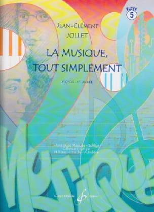 La Musique Tout Simplement - Volume 5 - laflutedepan.be
