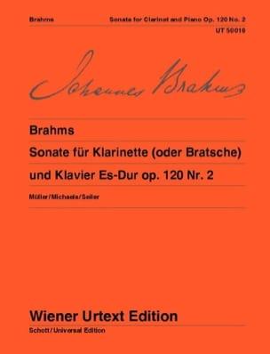 BRAHMS - Sonata Es-Dur Op. 120 N ° 2 - Partition - di-arezzo.com