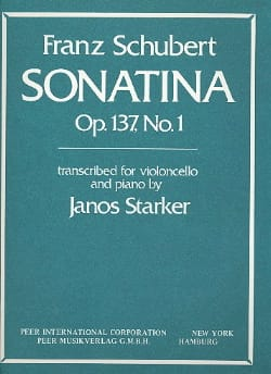 Sonatina op. 137 n° 1 transcr. SCHUBERT Partition laflutedepan