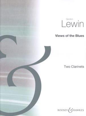 Views of the Blues Gordon Lewin Partition Clarinette - laflutedepan