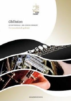 Oblivion - Quintette à vent Astor Piazzolla Partition laflutedepan