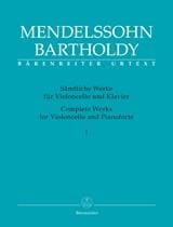 Complete Works for Violoncello and Pianoforte - Volume 1 Edition Urtext laflutedepan
