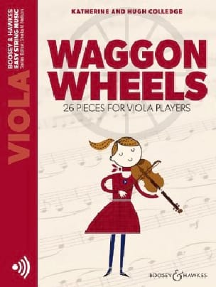 Waggon Wheels - Alto Katherine & Hugue Colledge Partition laflutedepan