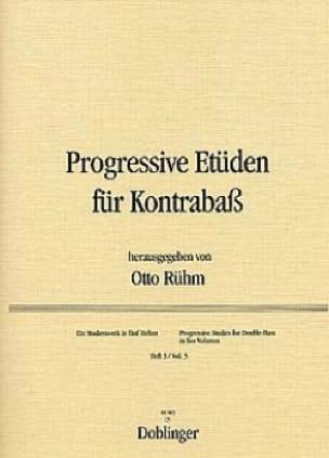 Progressive Etüden für Kontrabass, Heft 3 - laflutedepan.com