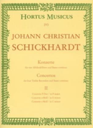 6 Konzerte - Bd. 2 : n° 4-6 - 4 Altblockflöten u. BC - laflutedepan.com