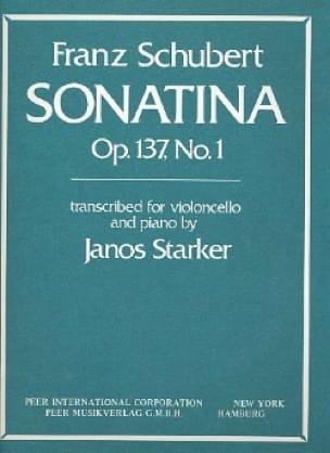 Sonatina op. 137 n° 1 transcr. - SCHUBERT - laflutedepan.com