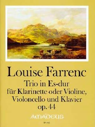 Trio en Mib Majeur, opus 44 - Louise Farrenc - laflutedepan.com