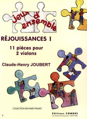 Réjouissances 1 Claude-Henry Joubert Partition Violon - laflutedepan
