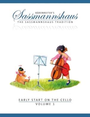 Early Start On The Cello Volume 1 egon sassmannshaus laflutedepan