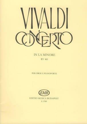 Concerto en la Mineur for Oboe, Strings, and Continuo, Rv 461 laflutedepan