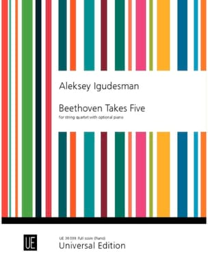 Beethoven Takes five - Conducteur (Partie piano) - laflutedepan.com