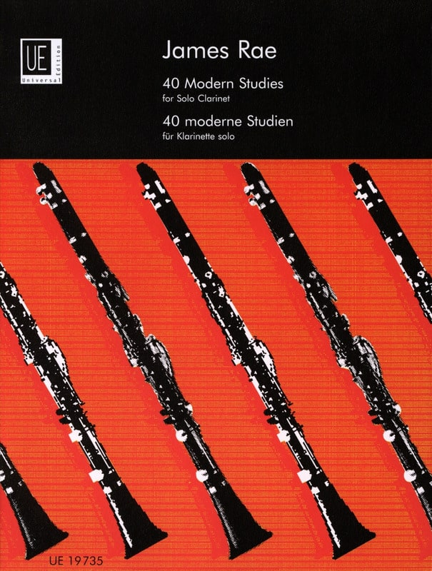 40 Modern Studies - Clarinet solo - James Rae - laflutedepan.com