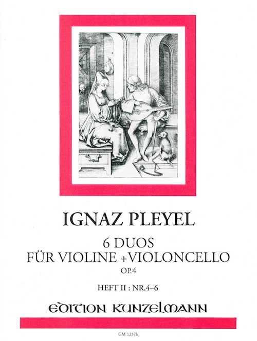 6 Duos für Violine und Violoncello op. 4 - Bd. 2 - laflutedepan.com