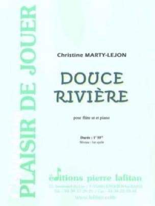 Douce Rivière - Christine Marty-Lejon - Partition - laflutedepan.com
