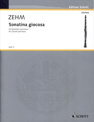 Sonatina Giocosa - Klarinette Klavier Friedrich Zehm laflutedepan