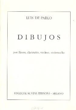Dibujos -Partitura Luis de Pablo Partition laflutedepan