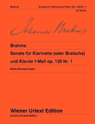 BRAHMS - Sonata F-Moll Op. 120 Nr. 1 - Partition - di-arezzo.com