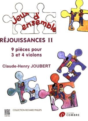 Réjouissances 2 Claude-Henry Joubert Partition Violon - laflutedepan