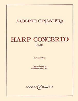 Concerto pour Harpe op. 25 GINASTERA Partition Harpe - laflutedepan