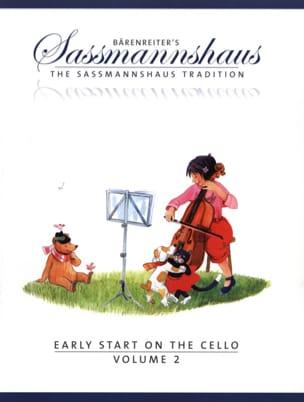 Early Start On The Cello Vol.2 egon sassmannshaus laflutedepan